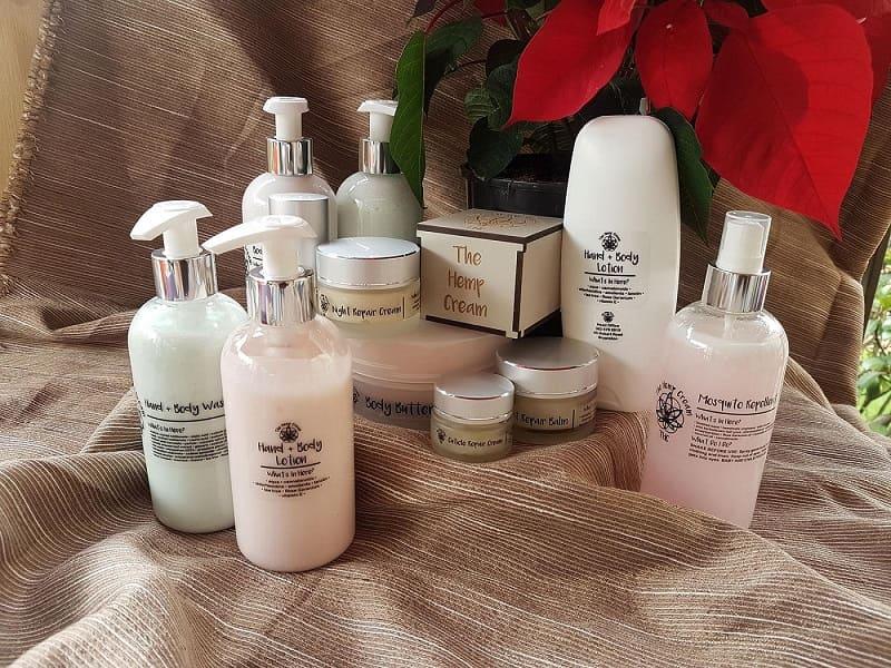 Introducing The Hemp Cream Skincare range online