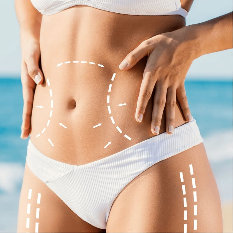 Increasing the bodies natural metabolism of burning out the fat without causing injury or pain to the outer layers of the skin.